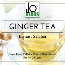 Ginger Tea Label