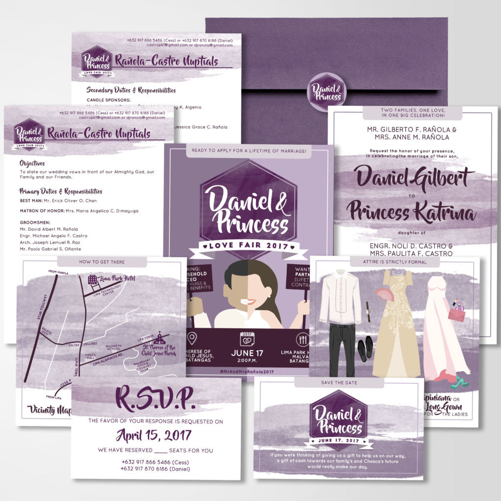 job fair resume theme wedding invitation