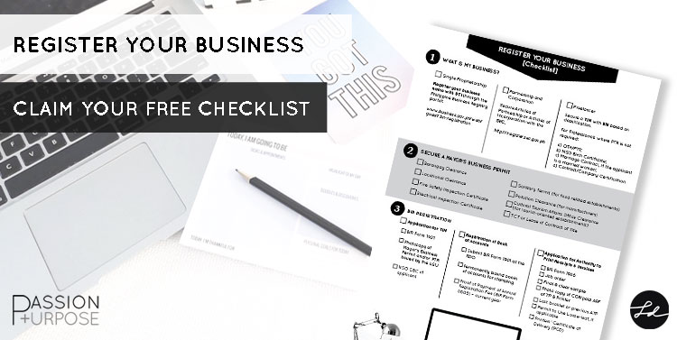 Register Your Business free checklist